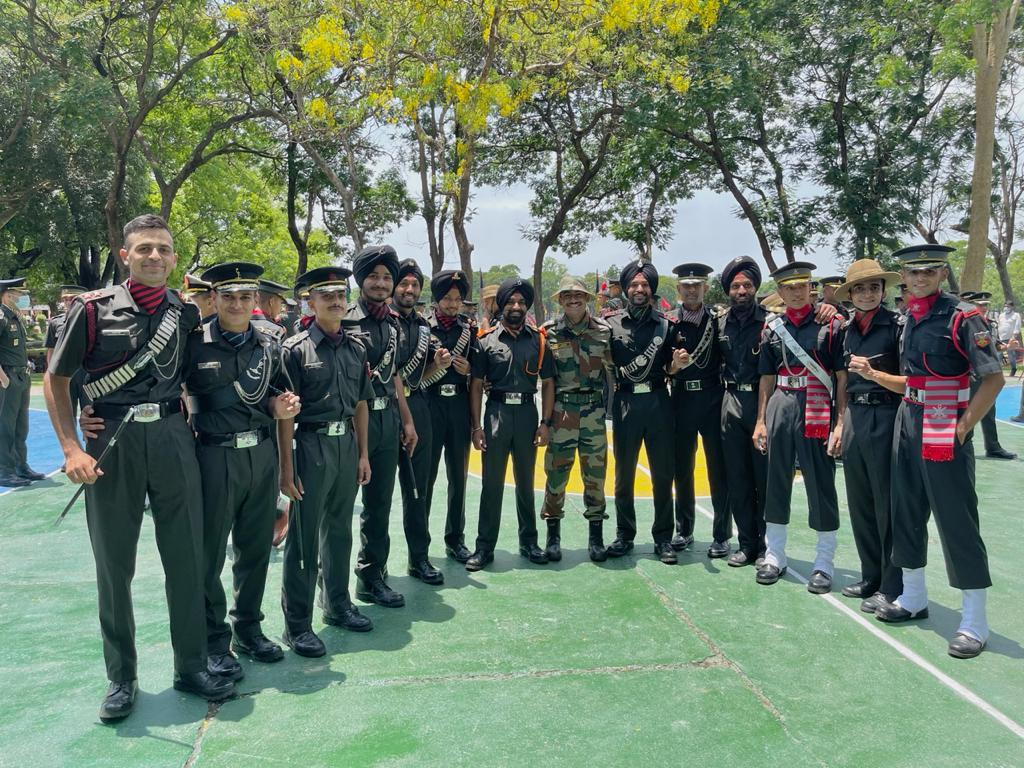 indian military academy passing out parade 2021