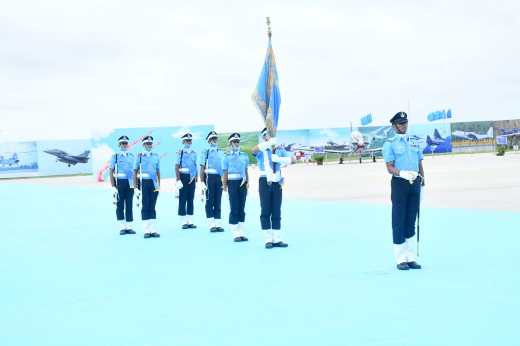 air force academy combined graduation parade 2021